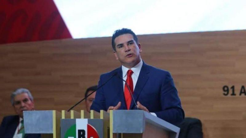 """Alejandro Moreno: """"No le arrebatarán al PRI su lugar en la historia"""""""
