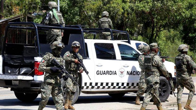 GN rescata en Tamaulipas a 2 colombianos secuestrados en NL