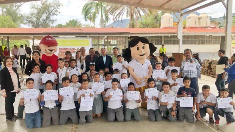 En Álamos ponen en marcha el programa Contralorcitos en primaria