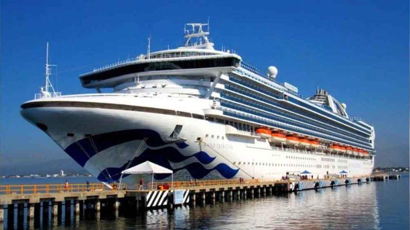 Crucero Grand Princess confirma 21 casos de coronavirus a bordo