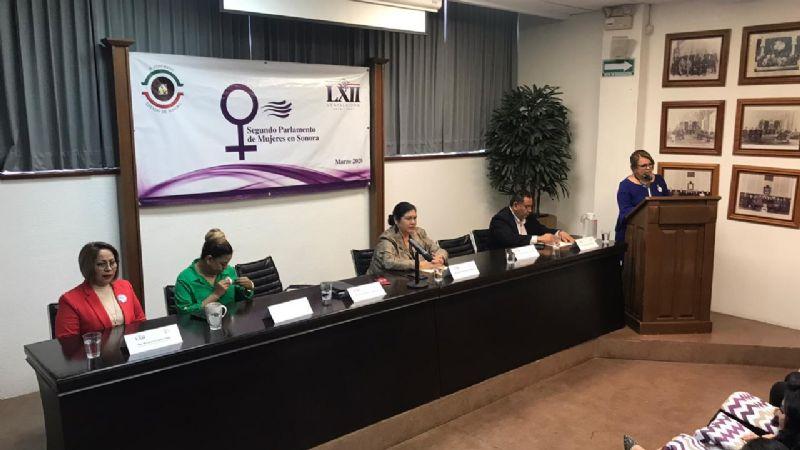 Congreso de Sonora realiza el Congreso Segundo Parlamento de Mujeres