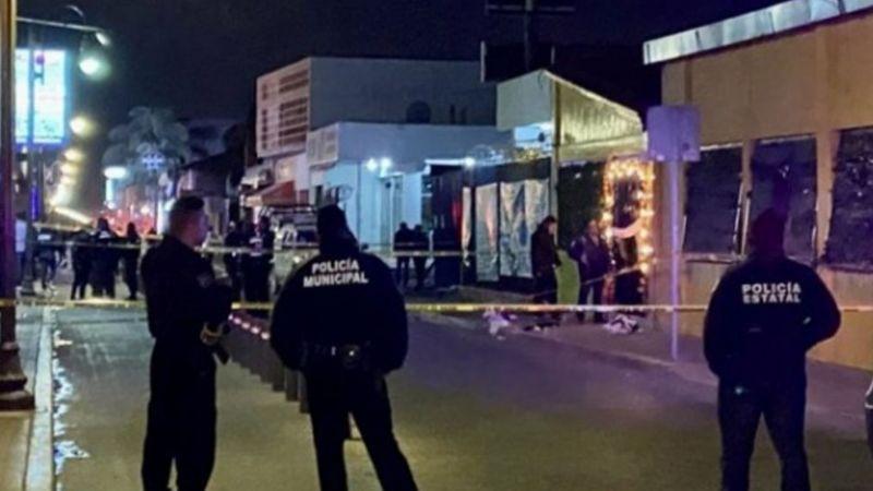Comando armado rafaguea bar durante su inauguración en Cholula, Puebla