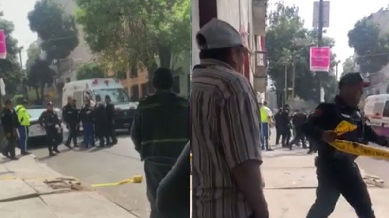 Balacera en hotel de CDMX: Asesinan a empleado y tirotean a policía