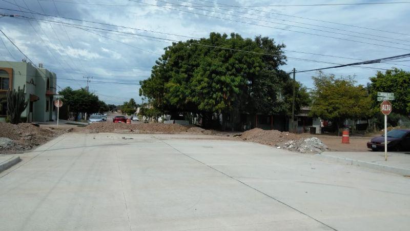 Un motociclista muere al chocar en una obra sin concluir en calles de Navojoa