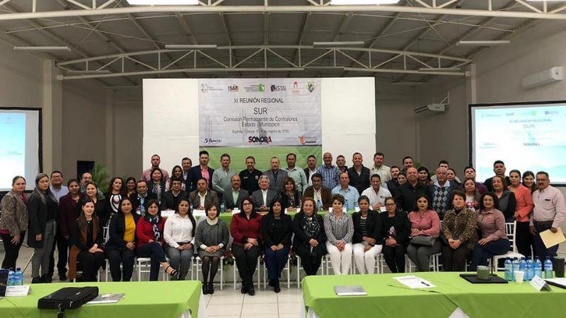 En Álamos realizan XI Reunión de la Comisión de Contralores