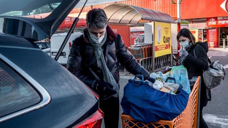 Cifra de muertos por coronavirus se dispara a 366 en Italia; 7 mil infectados