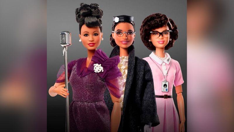 Poder femenino: Barbie lanza línea de muñecas para inspirar a las niñas