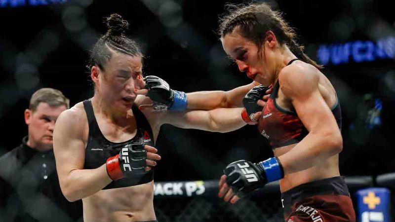 ¡Increíble! Así quedó la peleadora de la peleadora de UFC Joanna Jedrzejczyk