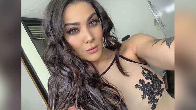 Érika Fernández eleva la temperatura al lucir silueta en diminuto bikini