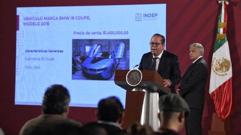 Gobierno recauda 53 millones de pesos por subasta en Los Pinos