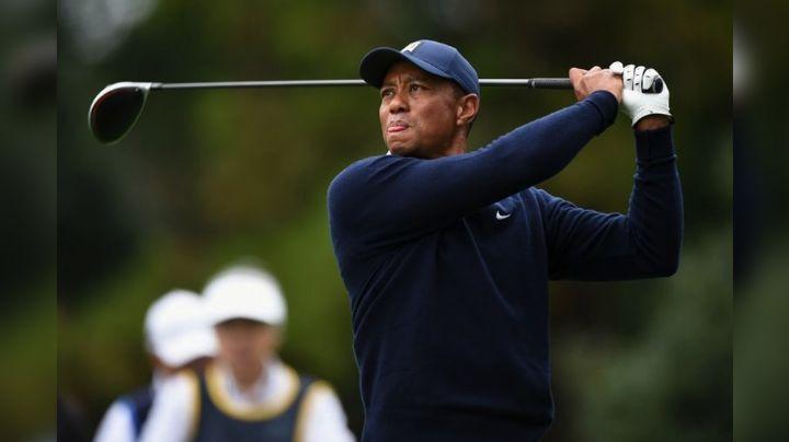 Tras fuerte accidente automovilístico de Tiger Woods, descubren la causa del incidente