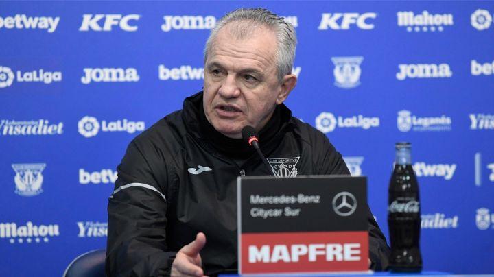 """""""Me llama el Leganés y aquí estoy, sufriendo como perro, pero muy feliz"""": 'Vasco' Aguirre"""