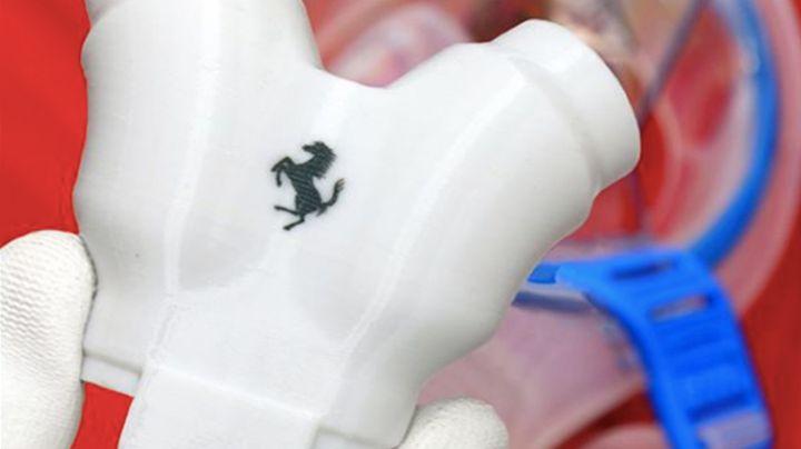 Ferrari crea válvulas de respiración para máscaras protectoras por el Covid-19