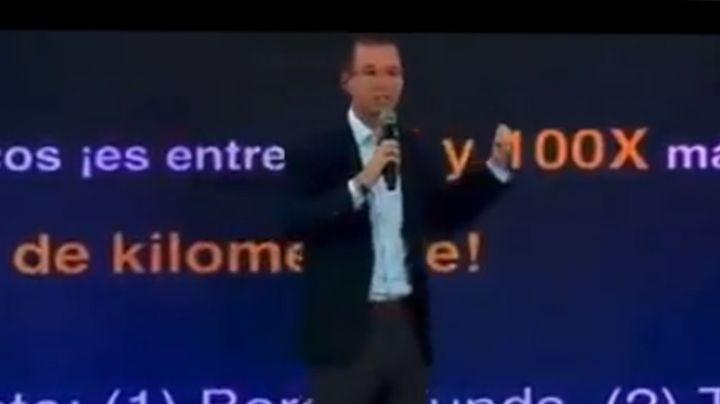 Ricardo Anaya se hace tendencia por video donde despedaza a AMLO