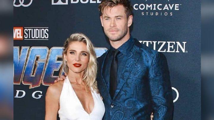 Esposa de Chris Hemsworth habría predicho el Covid-19; el actor lo revela