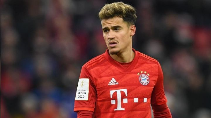 A través de Twitter, el Bayern Múnich anuncia la operación de Philippe Coutinho