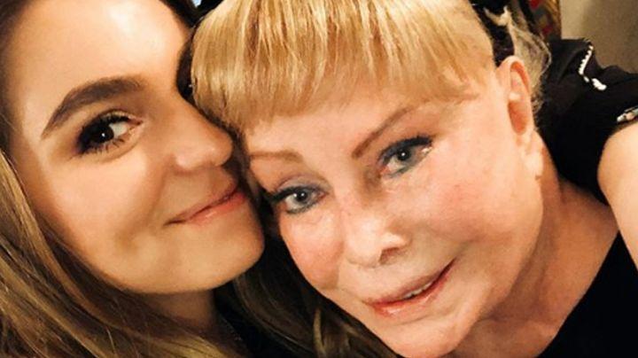 Sofía Castro comparte triste foto del funeral de su abuela, madre de 'El Güero' Castro