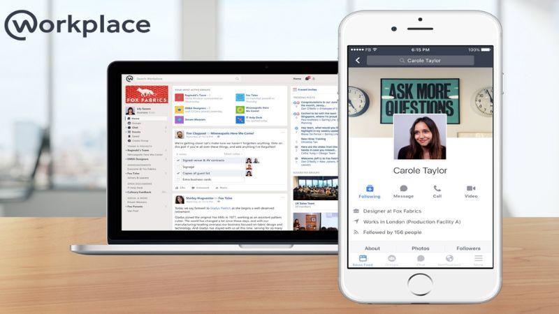Conoce las nuevas herramientas que Workplace de Facebook está implementando
