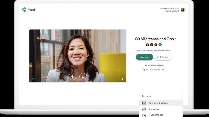 ¡Buenas noticias! Google Meet ofrece videollamadas premium gratis por Covid-19