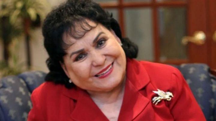 ¿Fue vedette? Carmen Salinas presume piernas al lucir como Olga Breeskin en su juventud