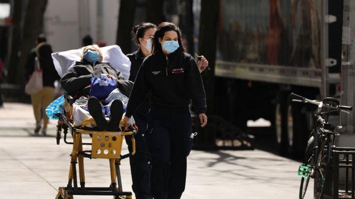 Estados Unidos supera los 300 mil contagios y más de 8 mil muertos por coronavirus