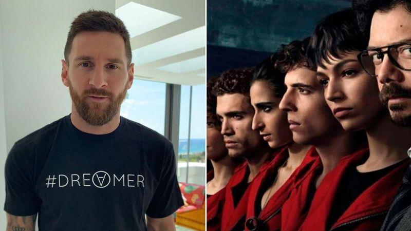 ¿Leo Messi actúa en la famosa serie de Netflix 'La Casa de Papel'?