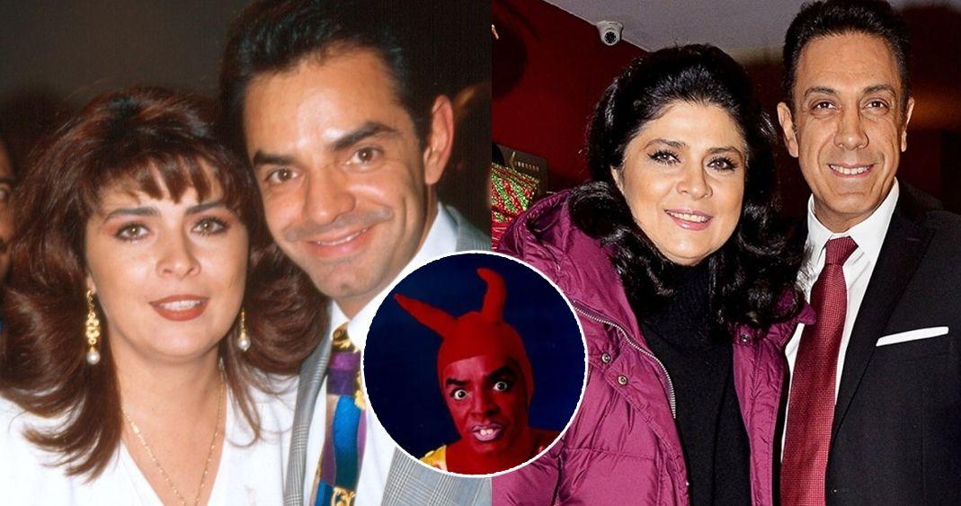 Comparte Eugenio Derbez broma sobre Omar Fayad, esposo de Victoria Ruffo