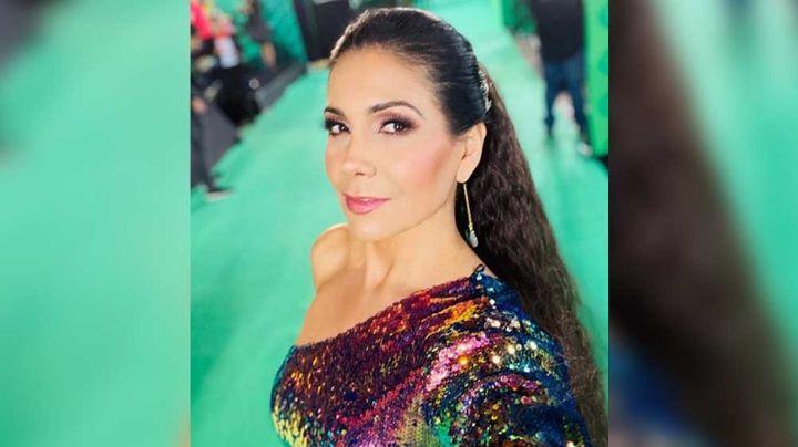 Desde Univision, Paty Manterola luce radiante y enamora al público de 'Mira Quién Baila'