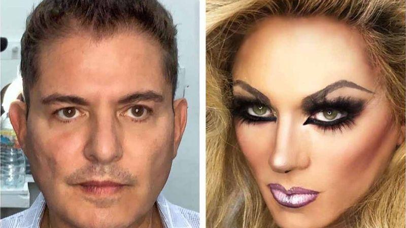¿Qué fue de Ernesto Laguardia? Perdió fama de galán en Televisa y se transformó en mujer