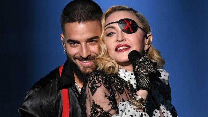 Maluma hace arder Instagram al recordar tremendo beso en los labios con Madonna