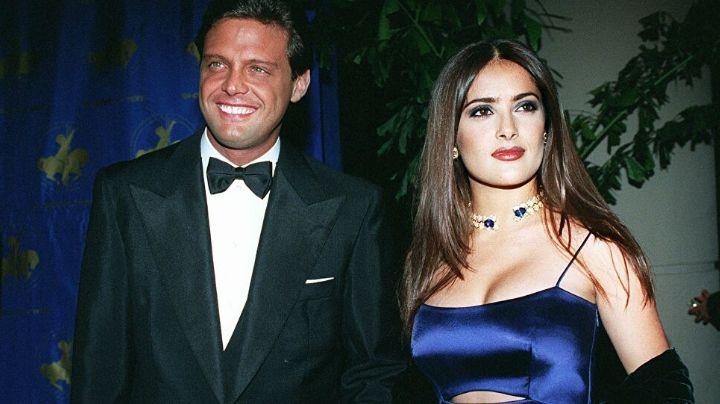 La actriz Salma Hayek revela si sostuvo una relación amorosa con el cantante Luis Miguel