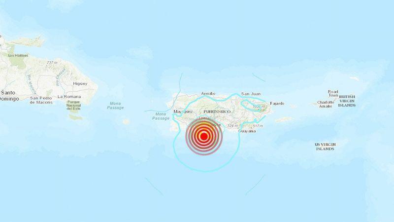 Puerto Rico registra 3 sismos de diferente magnitud; no hay advertencia de tsunami