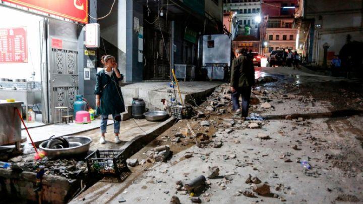Al menos 4 personas mueren tras un fuerte sismo de 5.0 en China