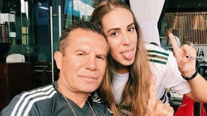 Julio César Chávez entrena a su hija Nicole, ¿para debutarla en los cuadriláteros?