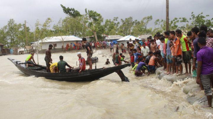 Tormenta 'Amphan' suma 95 muertes a su paso por Bangladesh y la India