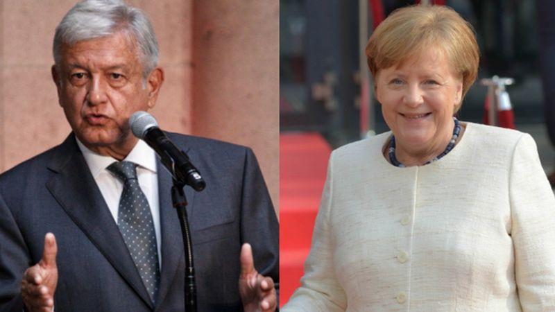 John Ackerman, 'destrozado' por comparara a AMLO con Angela Merkel