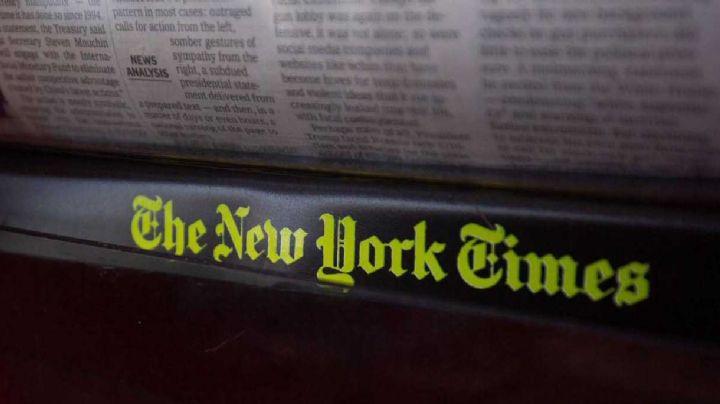 La impactante portada de NYT con los nombres de los fallecidos por Covid-19