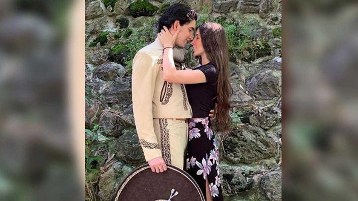 """Hijo de Alejandro Fernández presume """"apasionado"""" beso con su novia en Instagram"""