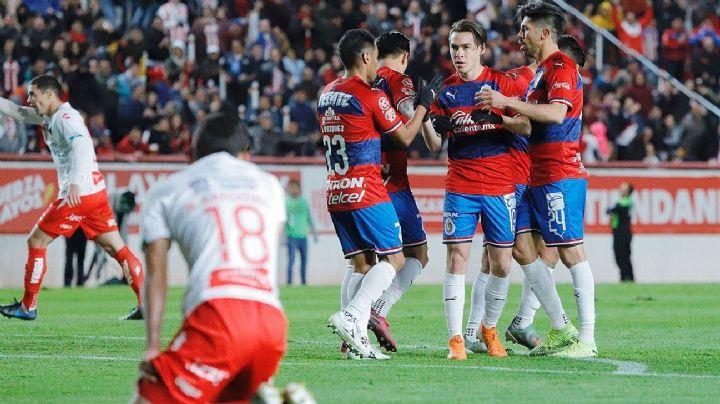 Las Chivas sacan el triunfo por goleada ante el Necaxa en la eLiga MX