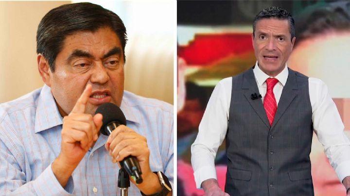 """Gobernador de Puebla amenaza al periodista Francisco Zea: """"Sé quien eres"""""""
