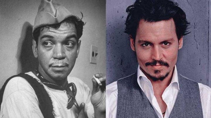 Johnny Depp, la estrella de Hollywood que es gran fan de 'Cantinflas' y quiso interpretarlo en filme