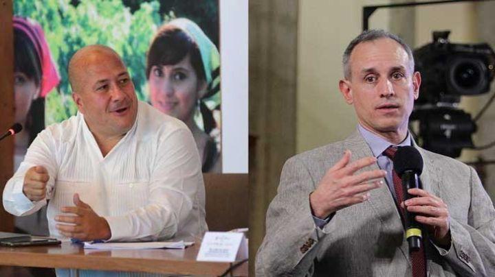 "López-Gatell, atacado por gobernador de Jalisco: ""Su nivel de cinismo es increíble"""