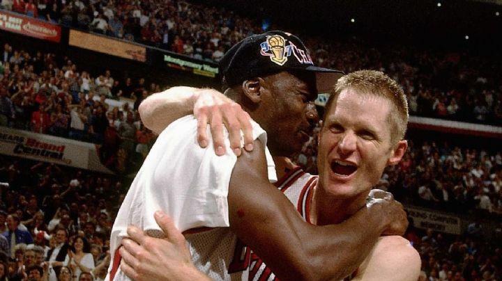 Steve Kerr desmiente versión de Michael Jordan contada en 'The Last Dance'