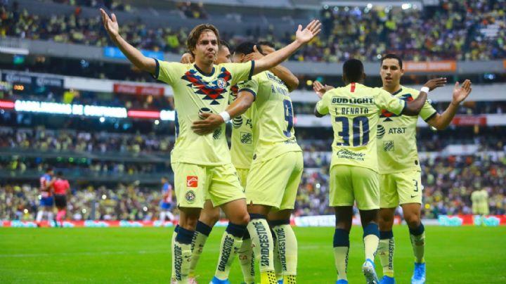 El América saca la victoria con remontada incluida ante San Luis en la eLiga MX