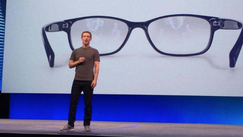 Facebook registra patente de nuevas gafas, más cerca de la realidad aumentada