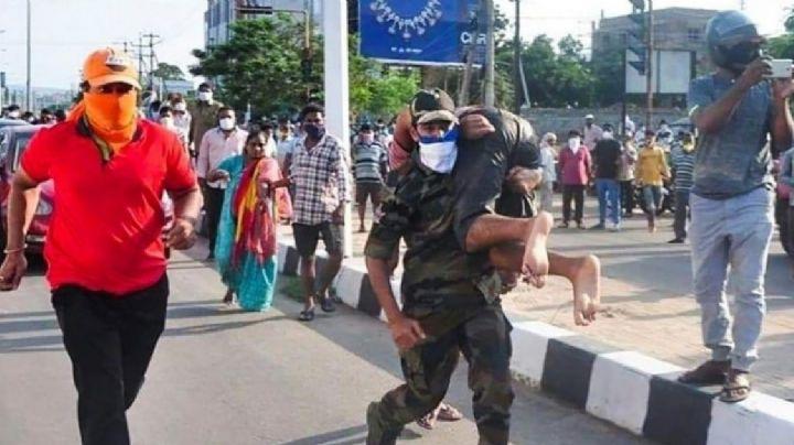Tragedia en la India: Se intoxican miles de personas con gas; hay 11 muertos