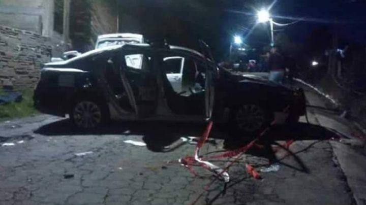 """VIDEO: Pobladores destrozan patrullas por miedo a """"ser infectados con Covid-19'"""""""