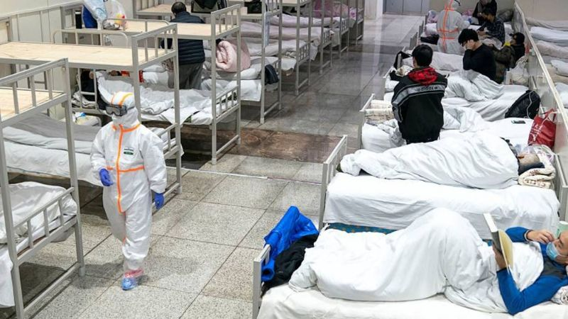 Se incendia hospital con pacientes diagnosticados con Covid-19 en Moscú