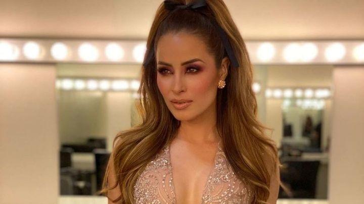 Desde 'VLA', Cynthia Rodríguez presume cuerpazo con entallado vestido y enamora a todo TV Azteca