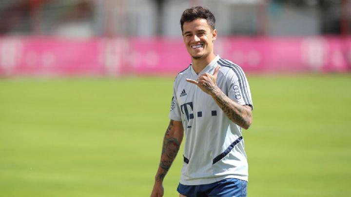 Philippe Coutinho alarga su prestamo con el Bayern Múnich